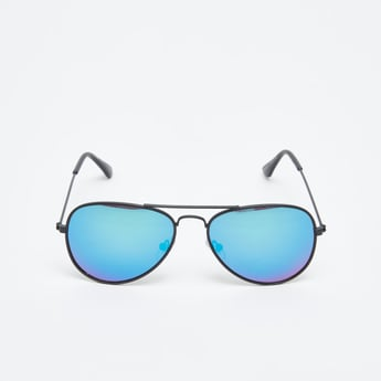 Aviator Sunglasses with Gradient Tint