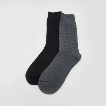 جوارب بطول متوسط - طقم من 2 أزواج