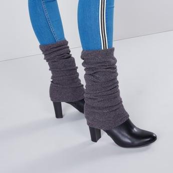 جوارب مطاطية لتدفئة الساق