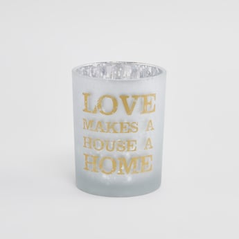 Printed Candle Holder - 10 cms