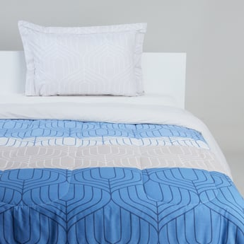 Printed Cotton 2-Piece Comforter Set - 160x220 cms
