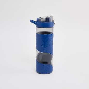 Textured Water Bottle with Spout