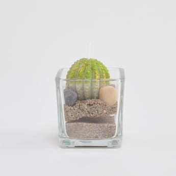 Succulent Plant Shaped Candle