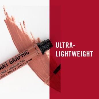 Rimmel Lip Art Graphic Liquid Lipstick - 1.8 ml