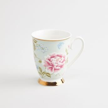 Floral Printed Mug with Handle