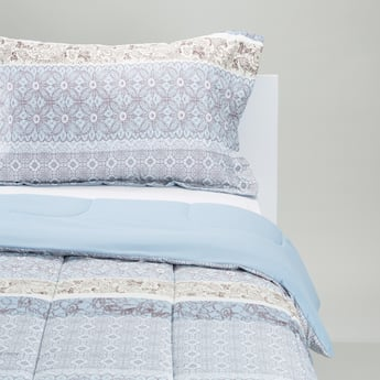 Printed Comforter and Pillowcase Set - 220x160 cms