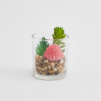Artifical Plant with Pot - 10x7 cms