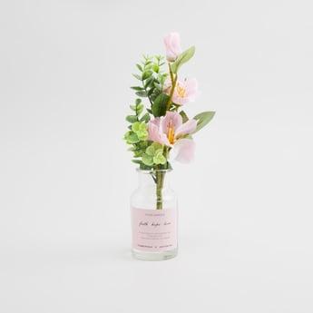 زهور اصطناعية في إصيص - 19x19x31 سم