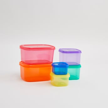 Set of 12 - Solid Containers with Lids