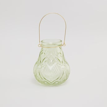 Textured Lantern with Handle