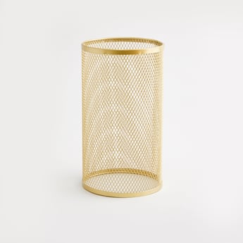 Cylindrical Candle Holder - 12x12x26 cms