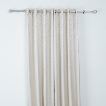 Printed 2-Piece Curtain Set - 240x135 cms