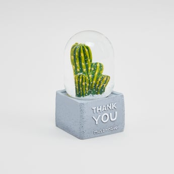 Decorative Cactus Water Globe