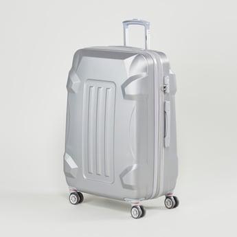 شنطة سفر صلبة بأنماط متعدّدة ومقابض قابلة للسّحب