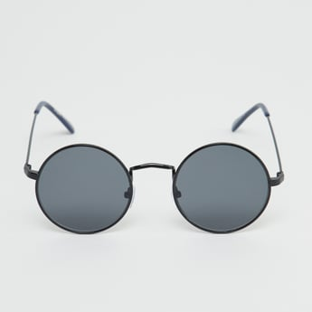 Round Full Rim Sunglasses