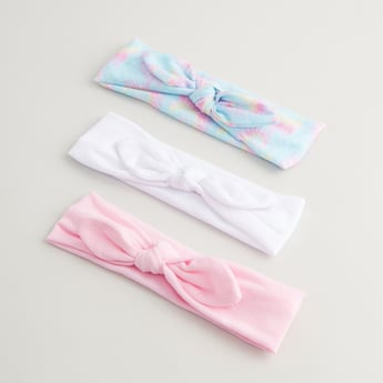 Set of 3 - Assorted Headband with Knot Detail
