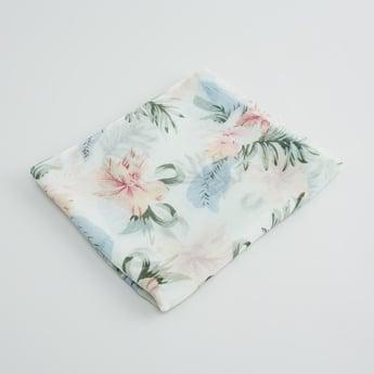 Floral Printed Rectangular Scarf