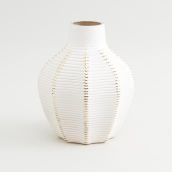 Vase with Striped Pattern