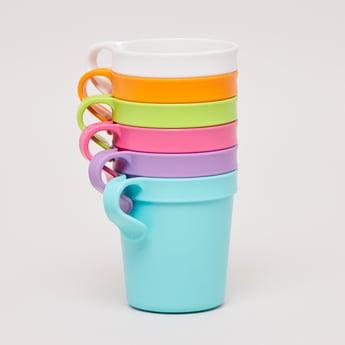 Set of 6 - Solid Mug with Handle