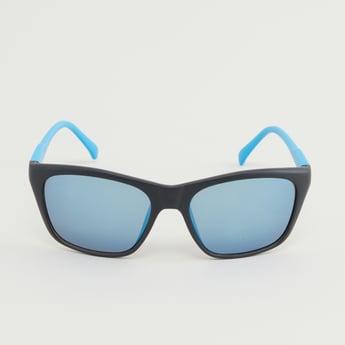 Colourblock Biker Sunglasses