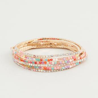 Set of 6 - Beaded Bracelets
