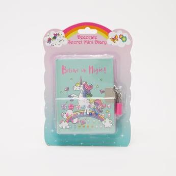 Decorate Secret Mini Diary