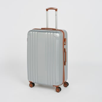 Solid Hard Case Luggage with Caster Wheels - 49x29.5x76 cms