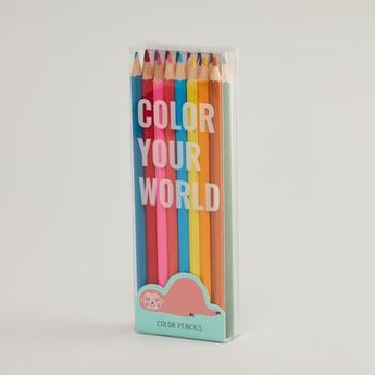 Back To School 24-Piece Colour Pencil Set