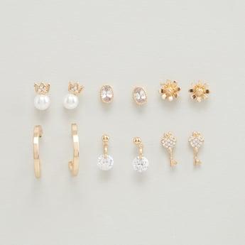 Set of 6 - Assorted Earrings