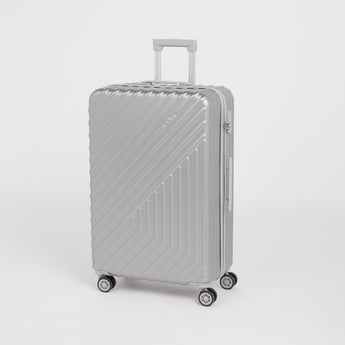 Solid Hard Case Luggage with Caster Wheels - 49x29x76 cms