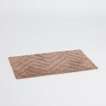 Textured Bath Mat - 80x50 cms