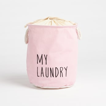 Printed Laundry Hamper - 49x38 cms