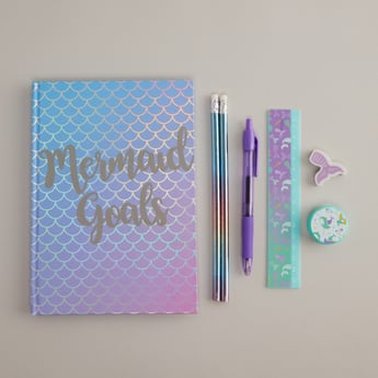 Printed 8-Piece Stationery Set