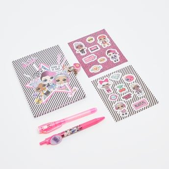 L.O.L. Surprise! Glitter Notebook with Magic Pen
