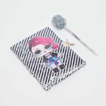 L.O.L Surprise! Sequins Glitter Notebook