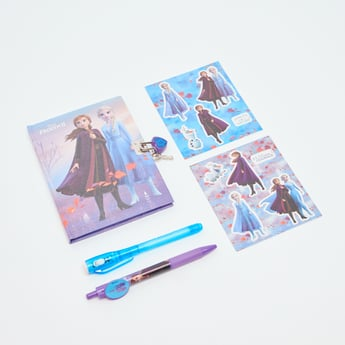 Disney Frozen II Secret Glitter Notebook with Magic Pen
