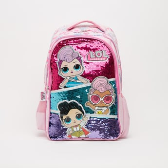 L.O.L. Surprise! Embellished Backpack with Adjustable Straps - 18 Inches