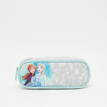 Frozen Print Pencil Case with Zip Closure