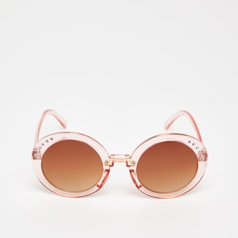 Embellished Sunglasses with Nose Pads