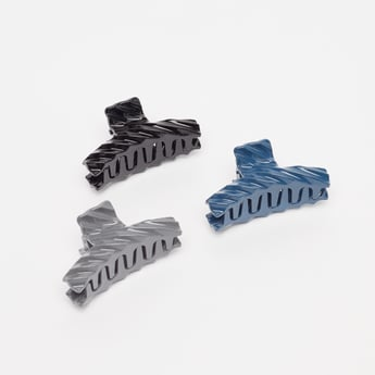 Set of 3 - Solid Clamp Hair Clips