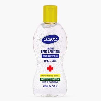 Cosmo Instant Hand Sanitizer Gel - 200 ml