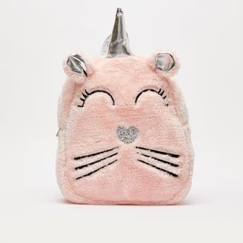 Embroidered Backpack with Adjustable Shoulder Straps