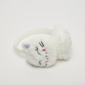 غطاء للأذنين بتصميم قطة