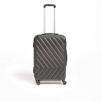 شنطة سفر صلبة بعجلات ومقبض قابل للسحب