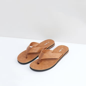 Stitch Detail Slide Sandals