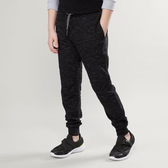 Knit Joggers with Pockets and Drawstring Closure