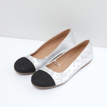 حذاء باليرينا مرصّع سهل الارتداء