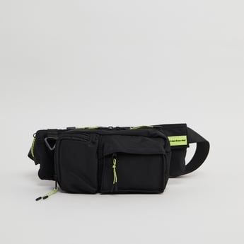 Plain Fanny Pack with Zip Closure