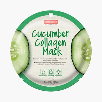 Purederm Cucumber Collagen Mask