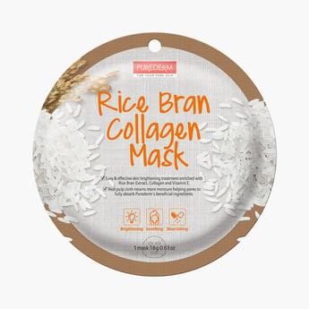 Purederm Rice Bran Collagen Mask